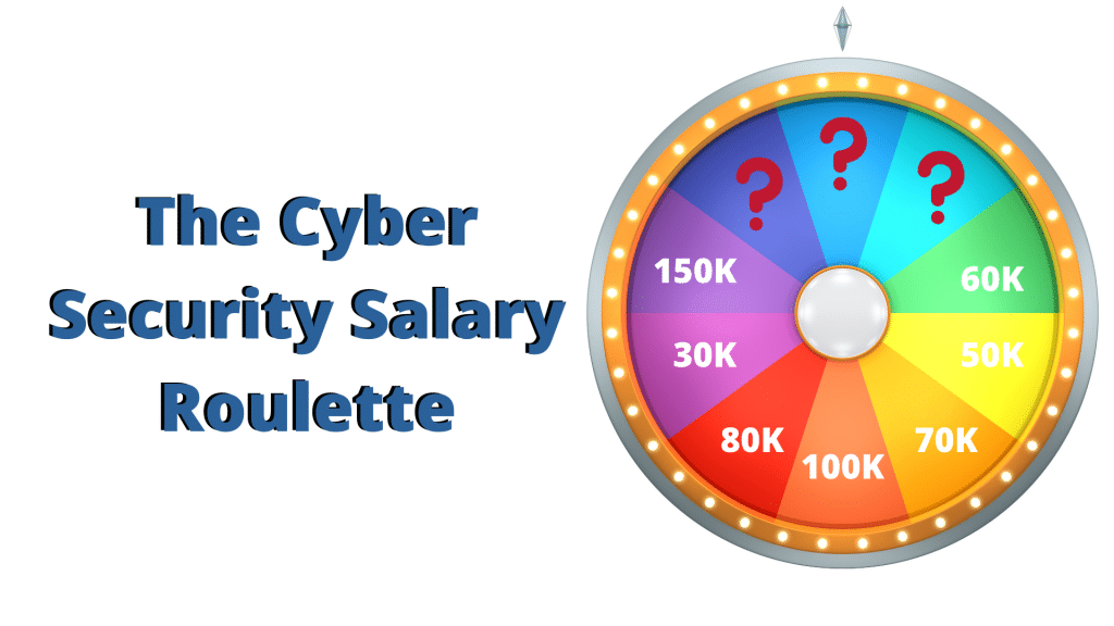 CISO Salary roulette wheel