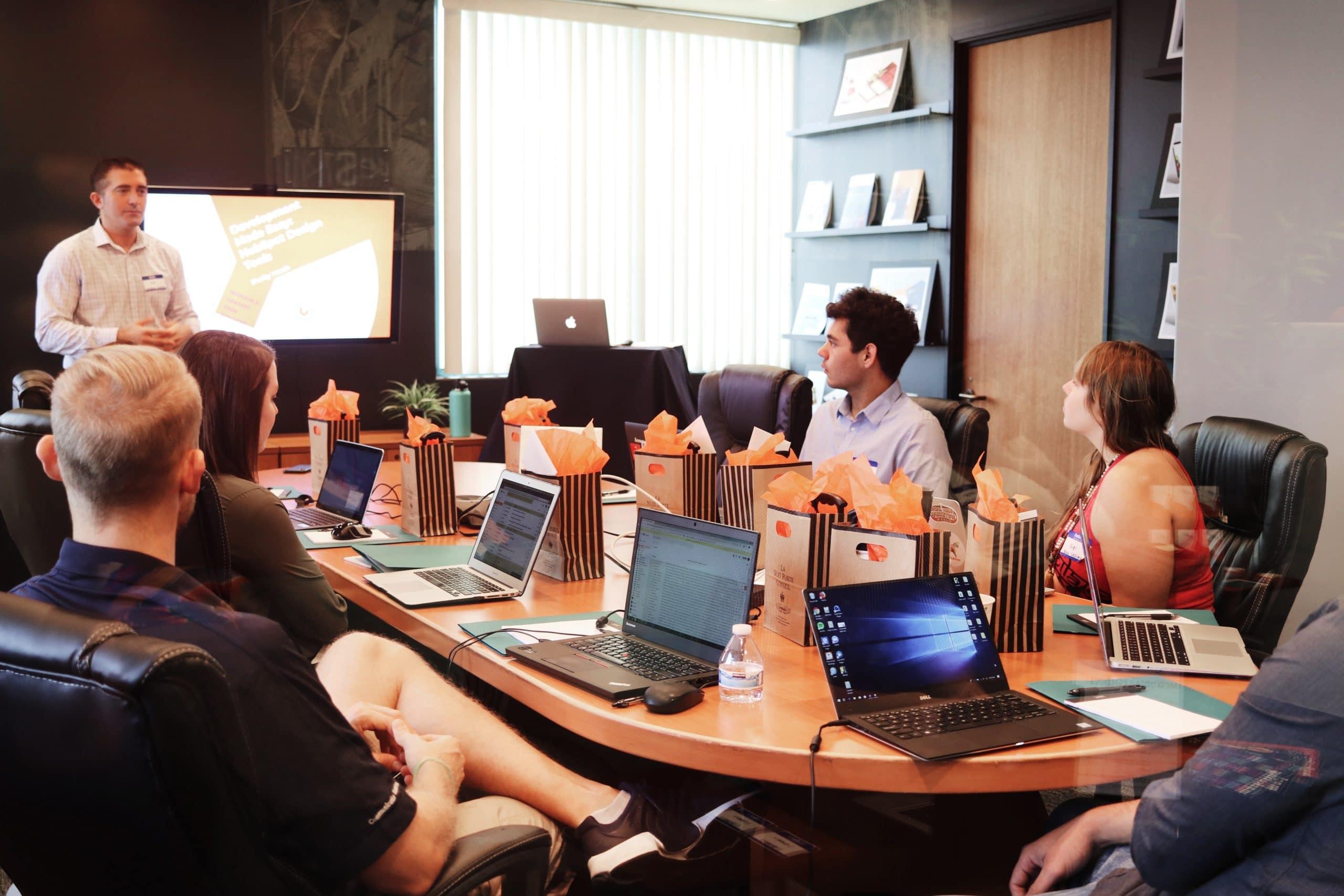IT budget presentation image