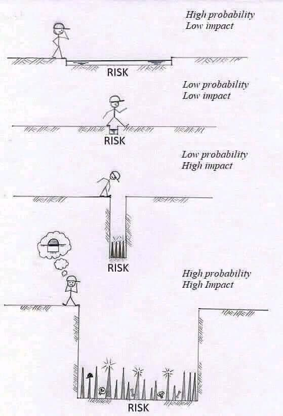 cyber risk probability cartoon