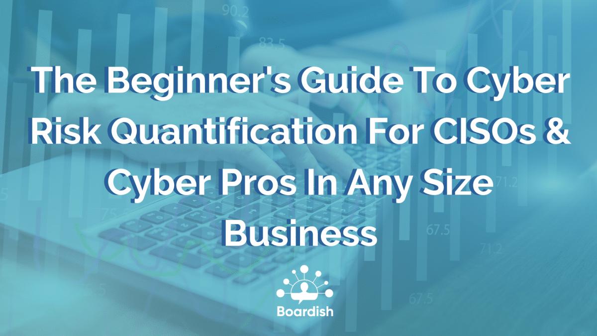 cyber risk quantification guide feature