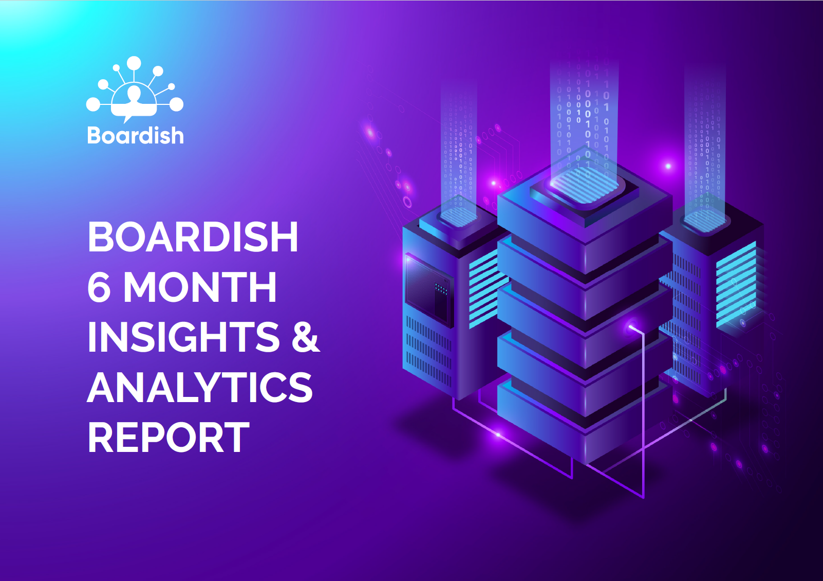 boardish 6 month report front cover